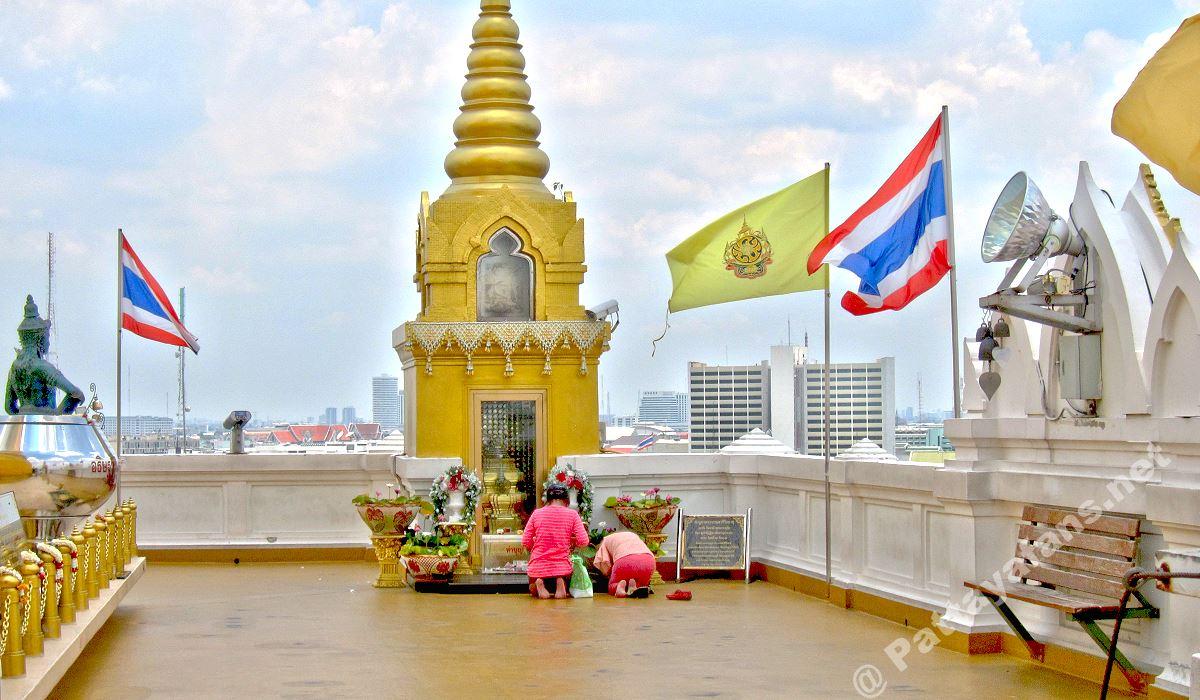 golden mount bangkok wat saket tempel. Black Bedroom Furniture Sets. Home Design Ideas