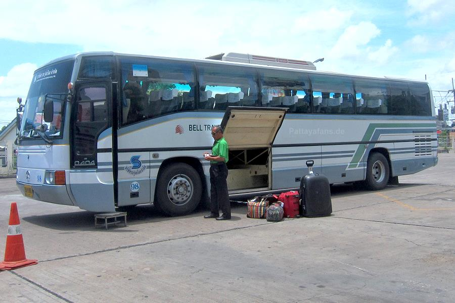 Bell Travel Service Bus Pattaya