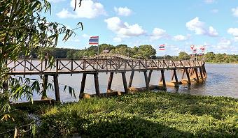 Nong Yai Wooden Bridge