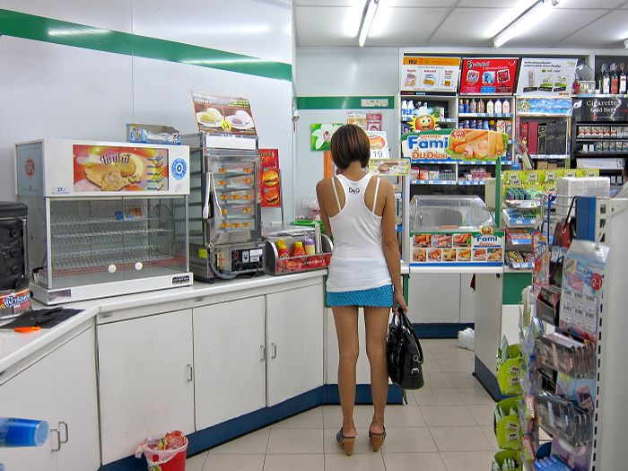 Family Mart in Pattaya