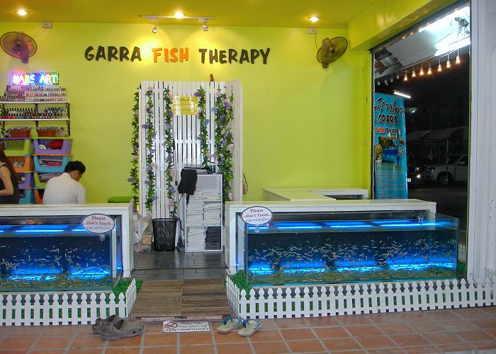 Fish-Spa-Therapie
