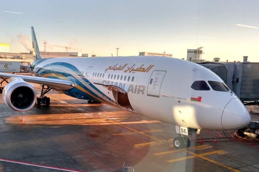 Brief Nach Oman : Mit oman air wy nach bangkok erfahrungen flug