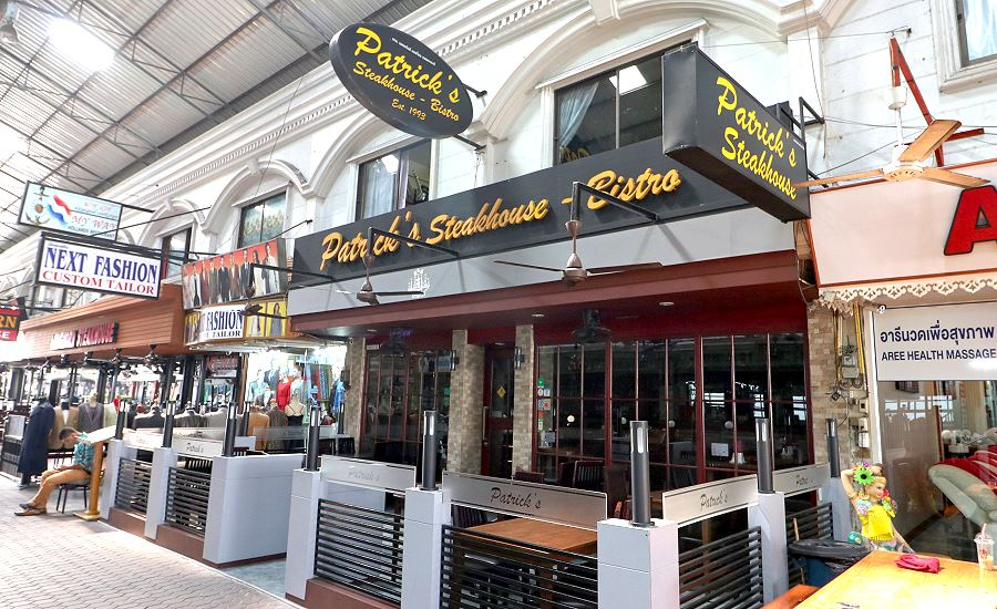 Patrick's Steakhouse Pattaya